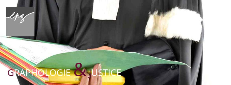 Cours graphologie pour la justice
