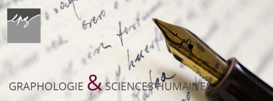 Graphologie et sciences humaines