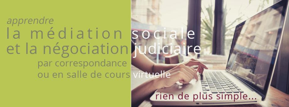 Médiation sociale et négociation judiciaire
